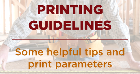 Printing Guidelines